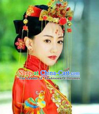 Ancient Chinese Style Wedding Hair Jewelry