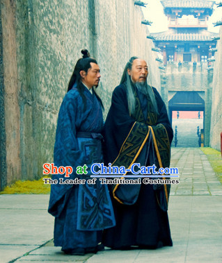 Ancient Chinese History Three Kingdoms Sima Yi Robe Clothes Costumes Chinese Costume