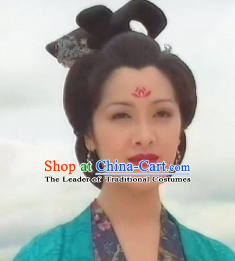 Ancient Chinese Noblewoman Black Wig