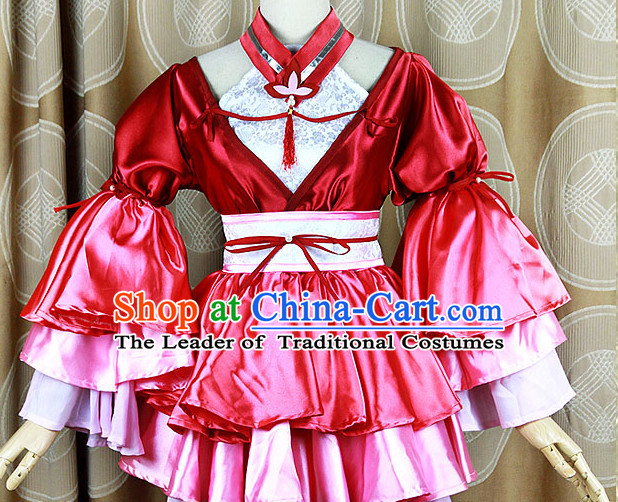 Ancient Asian Chinese Japenese Korean Cute Girl Cosplay Costumes