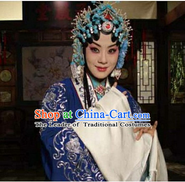 Ancient Chinese Asian Peking Opera Hair Accessories Headpieces Hair Jewelry