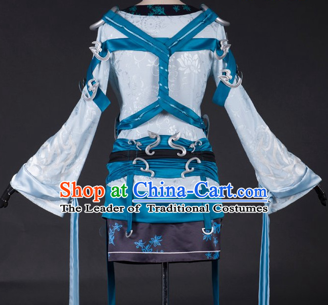 Ancient Chinese Knight Costumes Complete Set