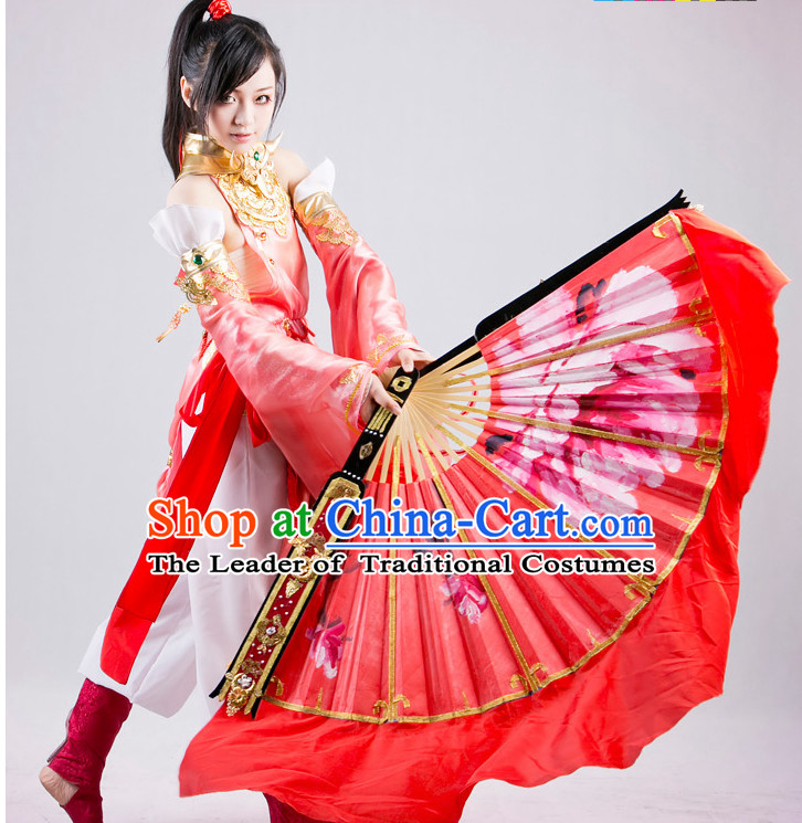 Ancient Chinese Fairy Dance Fan