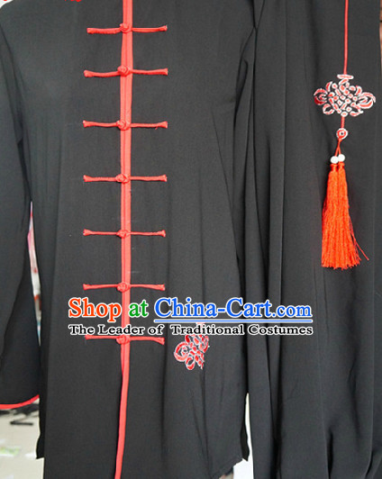 Top Tai Chi Chuan Uniform Taekwondo Karate Outfit Aikido Wing Chun Kungfu Wing Tsun Boys Martial Arts Supplies Clothing