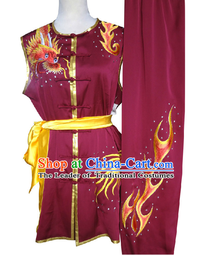 Top Southern Fist Wing Chun Uniform Martial Arts Supplies Supply Karate Gear Tai Chi Uniforms Clothing for Boys and Men
