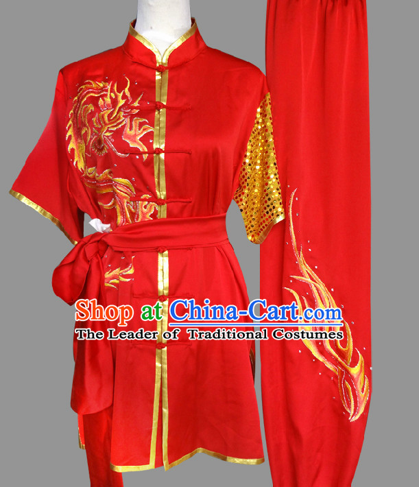 Top Short Sleeves Tai Chi Wing Chun Uniform Martial Arts Supplies Supply Karate Gear Tai Chi Uniforms Clothing and Veil for Women or Girls