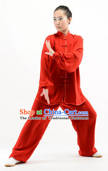 Red Top Kung Fu Martial Arts Karate Wing Chun Supplies Training Uniforms Gear Clothing Shop for Kids and Adults