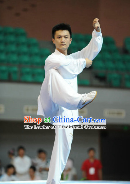 Top Tai Chi Competition Outfit Taiji Contest Jacket Pants Supplies Custom Kung Fu Costume Wu Shu Clothing Martial Arts Costumes for Men Women Kids Boys Girls