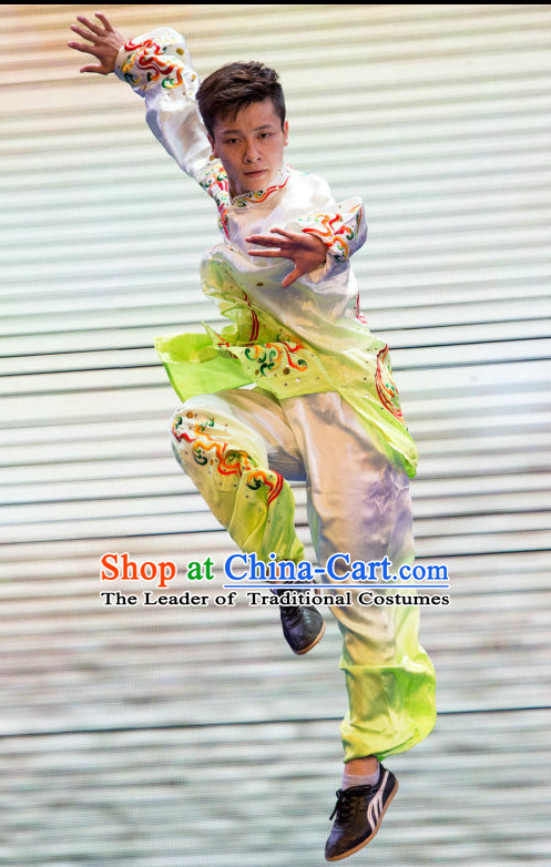 Top Tai Chi Kungfu Master Martial Arts Wushu Uniform Kung Fu Outfit for Men Women Boys Girls Kids