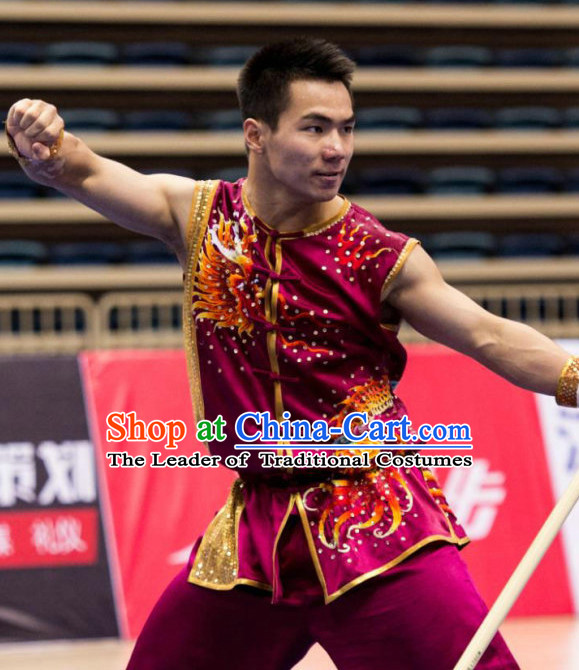 Traditional Kungfu Master Martial Arts Wushu Uniform Kung Fu Outfit for Men Women Boys Girls Kids