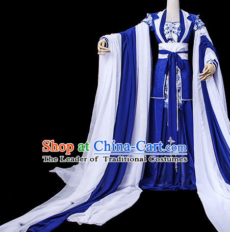 Chinese Costume Ancient China Dress Classic Garment Suits Queen Empress Cosplay Clothes Clothing Complete Set for Women