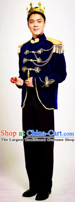 England Folk Costume Traditional Garment Classic Clothing Complete Set for Men (the Left One)