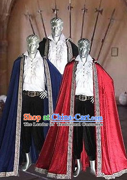 Traditional British National Costume Medieval Costume Renaissance Costumes Historic Dresses Complete Set for Men