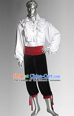 Traditional British National Costume Medieval Costume Renaissance Costumes Historic Dresses Complete Set
