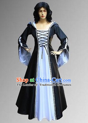 Traditional British National Costume Medieval Costume Renaissance Costumes Historic Clothes Complete Set for Women  sc 1 st  China-Cart & Traditional British National Costume Medieval Costume Renaissance ...