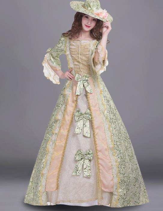 Traditional UK Royal Duchess Costume online Adult Costume Carnival Ladies Costumes for Women and Girls