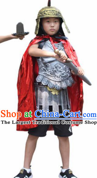 Ancient English Knight Kids Adults Halloween Costume for Men and Boys