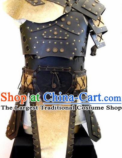 Ancient Medieval Knight Costumes Kids Adults Halloween Costume for Men and Boys