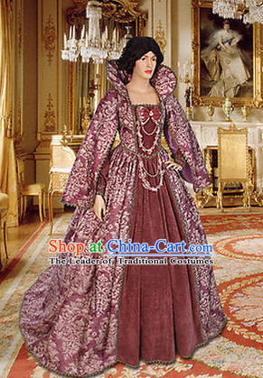Ancient Medieval Costumes Noblewomen Costumes for Women Girls Adults Kids