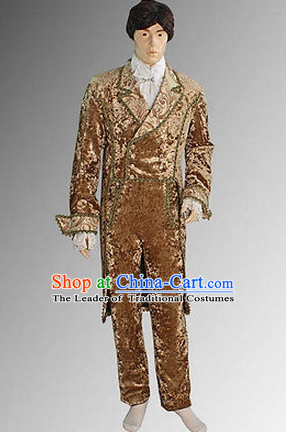 Ancient Baroque Style Suit Complete Set for Men