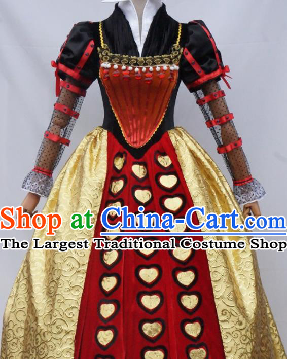 Traditional English National Costumes and Hat Complete Set for Women