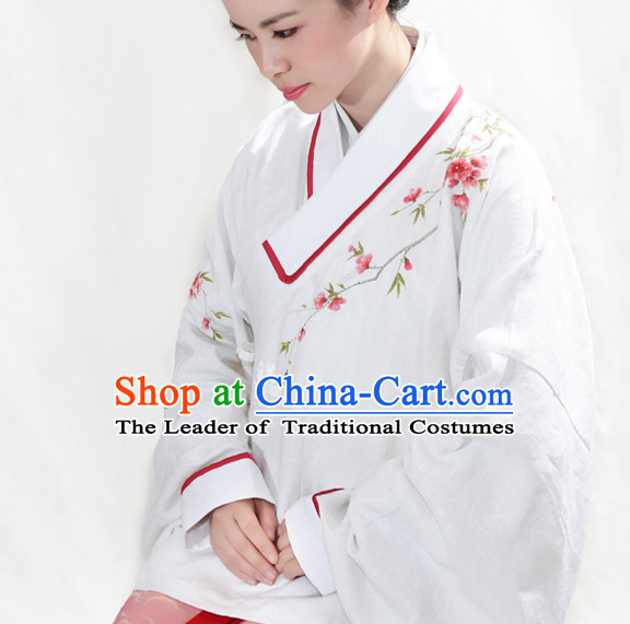 Chinese Classic Song Dynasty Clothing and Hair Accessories Complete Set for Men