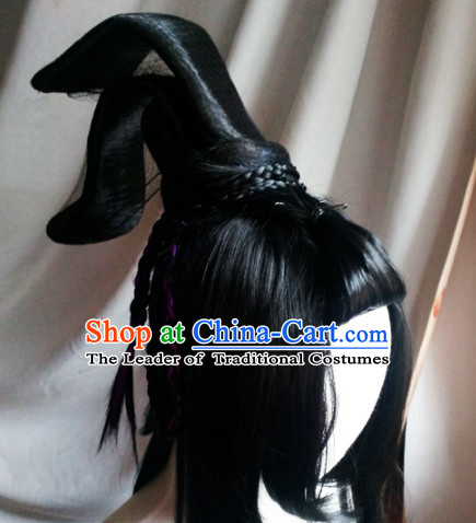Ancient Chinese Wigs Toupee Wigs Human Hair Wig Hair Extensions Sisters Weave Cosplay Wigs Lace Hair Pieces and Accessories
