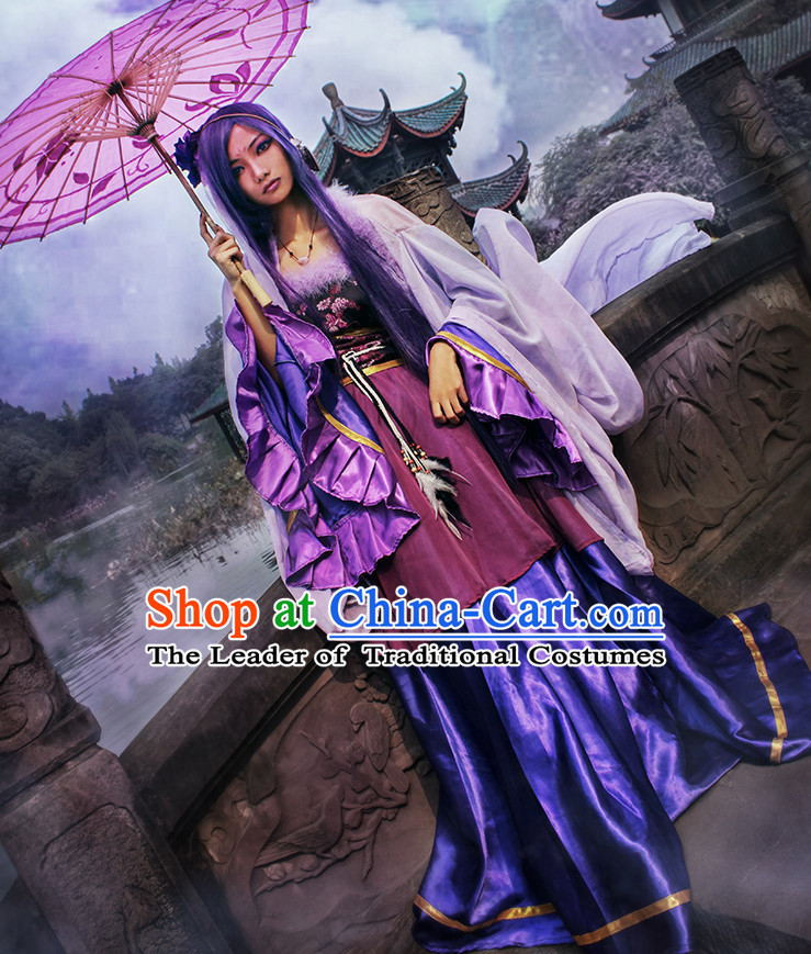 Classic Fairy Cosplay Costumes Ancient Halloween Costume Chinese Dress Shop Wonder Catwoman Superhero Sexy Mermaid Adult Kids Costume for Women