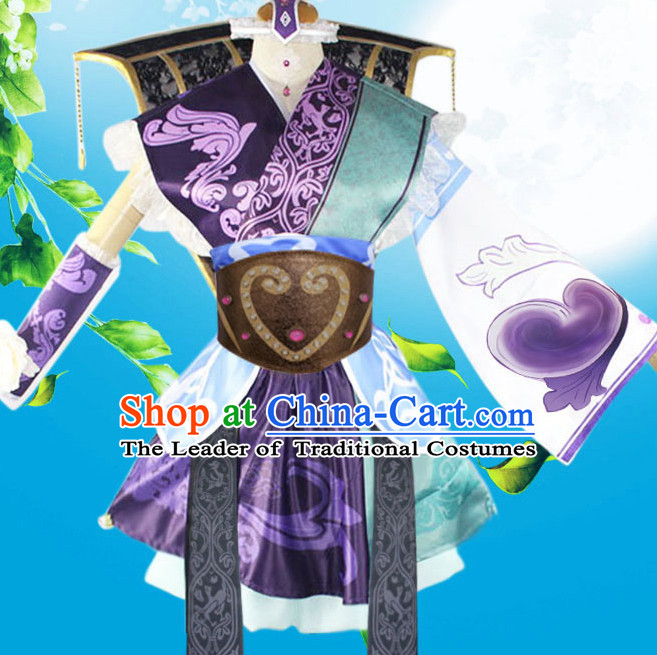 Ancient Asian Chinese Costume Clothing Cosplay Costumes Store Buy Halloween Shop National Dress Free Shipping for Women