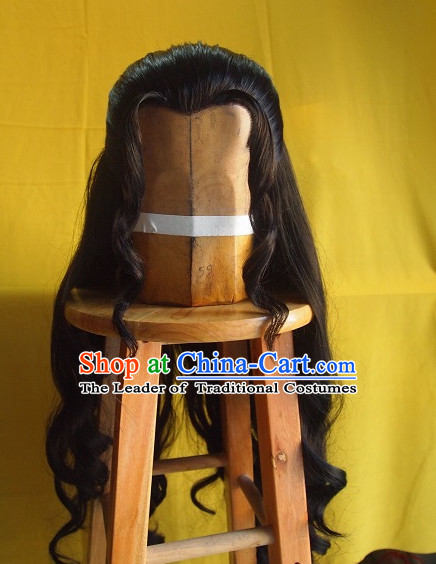 Ancient Chinese Wigs Hair Extensions Toupee Lace Front Remy Sisters for Kids Men Women Hair Pieces Weave Hair Wig