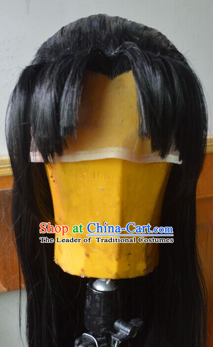 Asian male wig