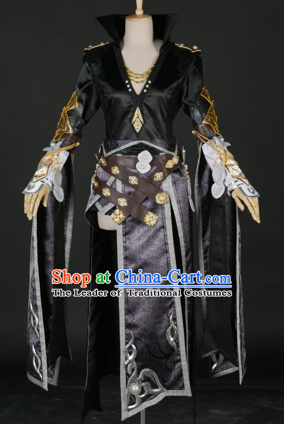 Chinese Kun Fu Master Costume Garment Dress Costumes Dress Adults Cosplay Japanese Korean Asian King Clothing for Men