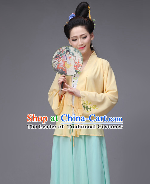 Chinese Ancient Song Dynasty Garment Costumes Japanese Korean Asian Costume Wholesale Clothing Wonder Woman Costume Dance Costumes Adults Cosplay for Women
