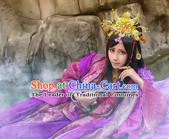 Chinese Ancient Fairy Dress Costumes Japanese Korean Asian King Costume Wholesale Clothing Garment Dress Adults Cosplay for Women