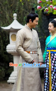 Traditional Chinese Hanfu Dresses for Men