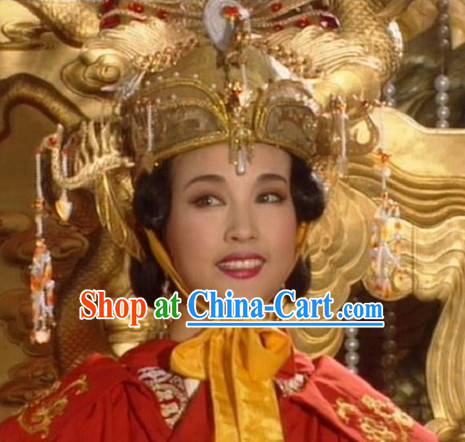 Ancient Chinese Tang Wu Ze Tian Phoenix Crown