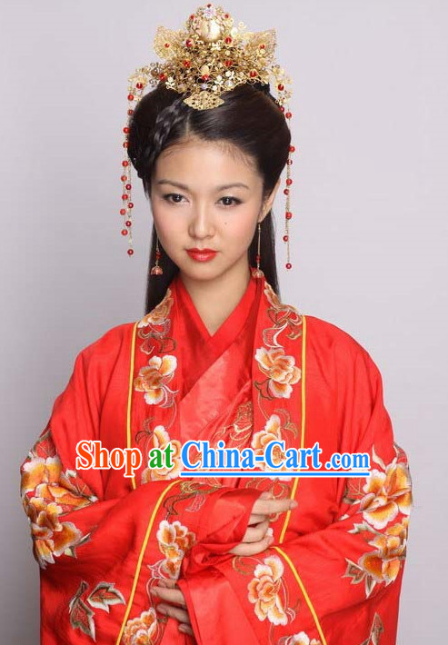 Ancient Chinese Wedding Hair Jewelry