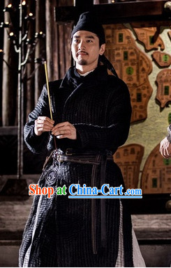 Ancient Chinese Tang Detective Di Renjie Costumes