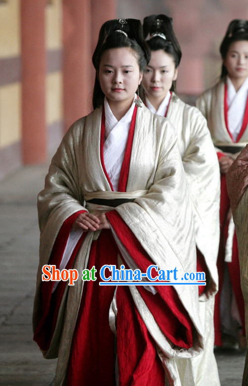 Ancient Chinese Princess Hanfu Dresses