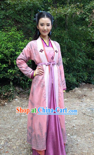 Chinese Traditional Swordwoman Clothing