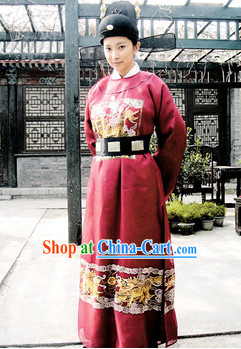 China Traditional Government Official Uniform