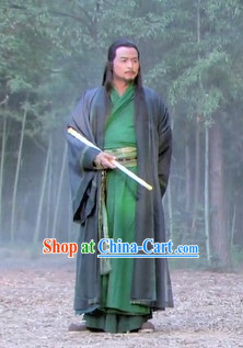 China Traditional Martial Arts Shifu Outfit