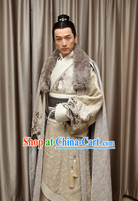 Chinese Traditional Nobleman Clothing Complete Set