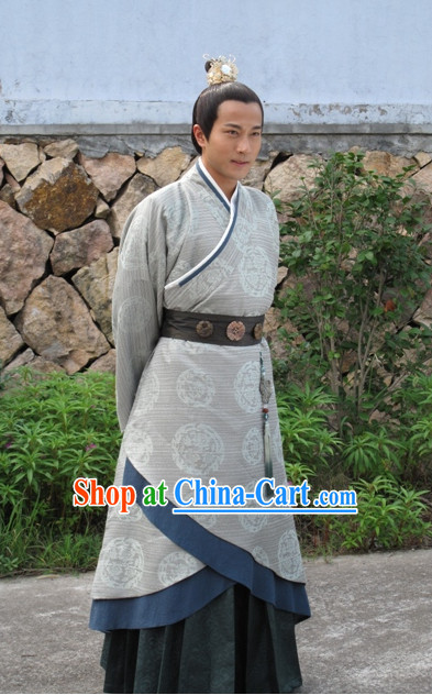 China Prince Clothing Hanfu Dresses Complete Set for Men