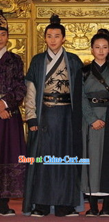 Traditional Chinese Ban Bi Swordsman Hanfu Dress Set