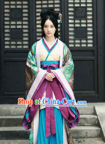Infanta Chinese Dramaturgic Gowns and Robes Hair Accessories