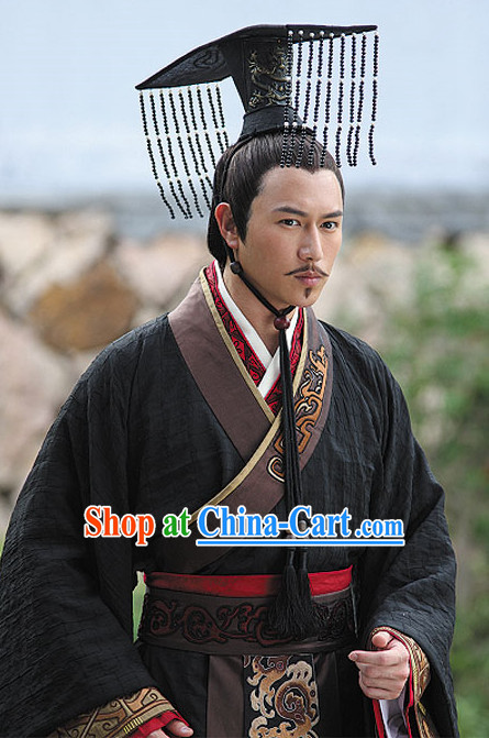 Ancient Chinese Male Emperor Gowns Costume China Dress