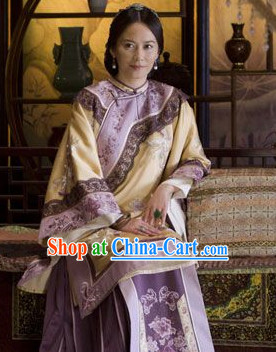 Chinese Classic Noblewomen Movies Costume and Hair Accessories