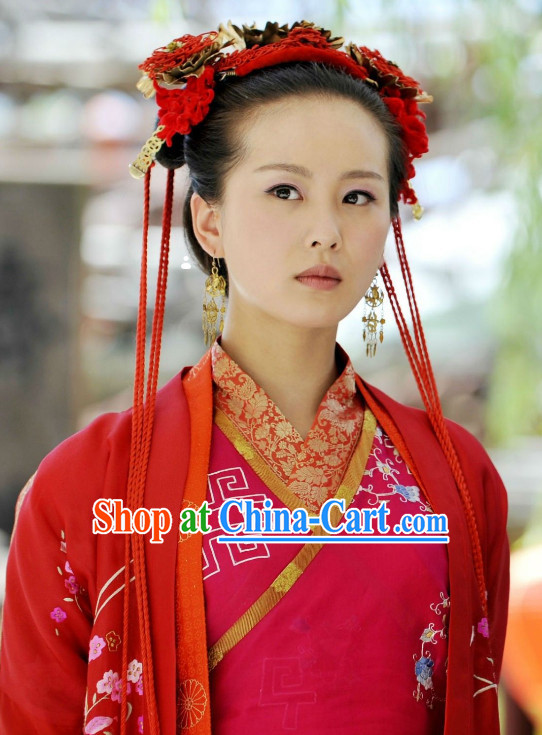 Ancient Chinese Wedding Hair Decorations