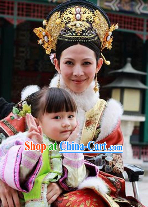 Chinese Classic Female Empress Hair Accessories Set